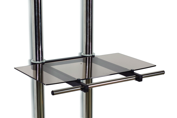 LC-TRS2 - półka szklana do wózków LC-TR1/2/3 - Akcesoria do wózków