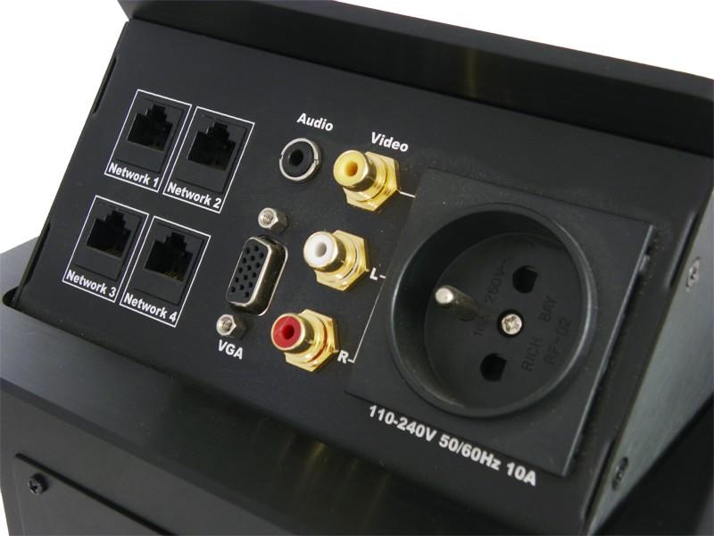 LC 0001 Desktop Socket - Przyłącza stołowe