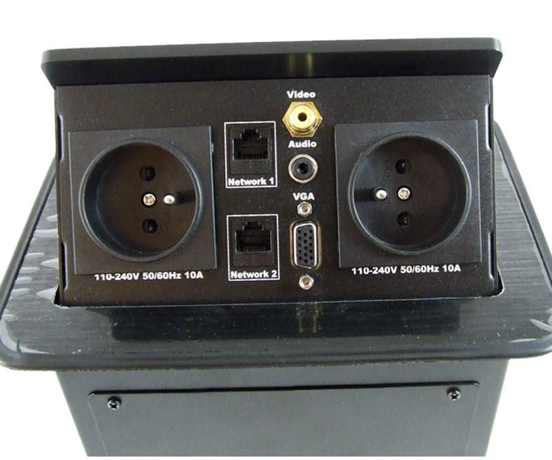 LC 0002 Desktop Socket - Przyłącza stołowe