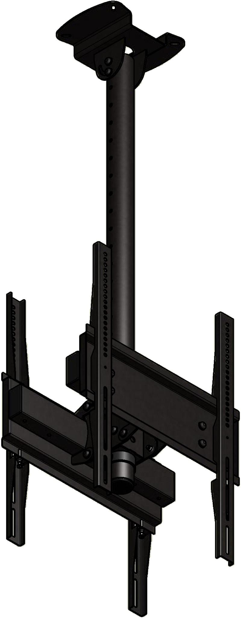 LC-US1155BB-P - Uchwyt sufitowy do 2 TV - Uchwyty do sufitu