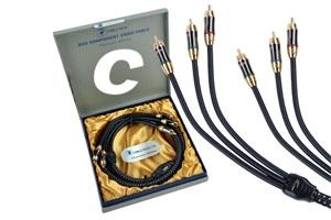 Kabel 3RCA-3RCA Component 1.8m Cabletech Platinum Edition