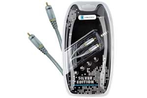 Kabel 1RCA-1RCA 1m coaxial Cabletech Silver Edition