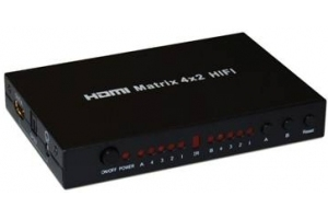 Spliter KAUBER HDMI 4-2 3D Ready Matrix