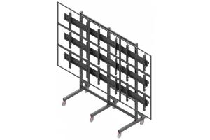 LCT3357-L - Uchwyt mobilny do videościany 3x3 / 50