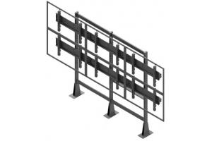 LCS3247-L - Uchwyt stacjonarny do videościany 3x2 / 42