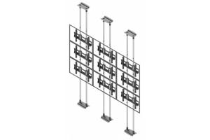 LCFC3357-L - Uchwyt sufit-podłoga do videościany 3x3 / 50